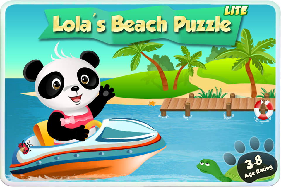 Screenshot Lola's Beach Puzzle Lite
