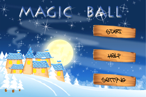 Screenshot magicball3D ice